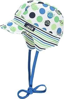 Döll Baby-Jungen Sonnenhut Bindemütze mit Schirm Jersey