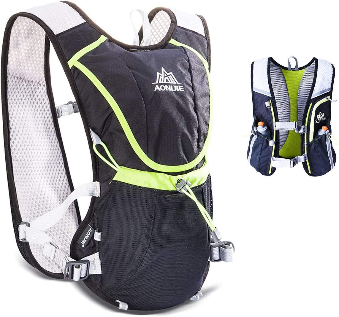 TRIWONDER 8L Hydration Vest Trail Running Hydration Pack Backpack Ultra Marathon Race Vest