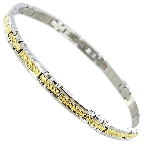 Amazon.com: Rochet Roma Acero inoxidable sólido oro y plata ...