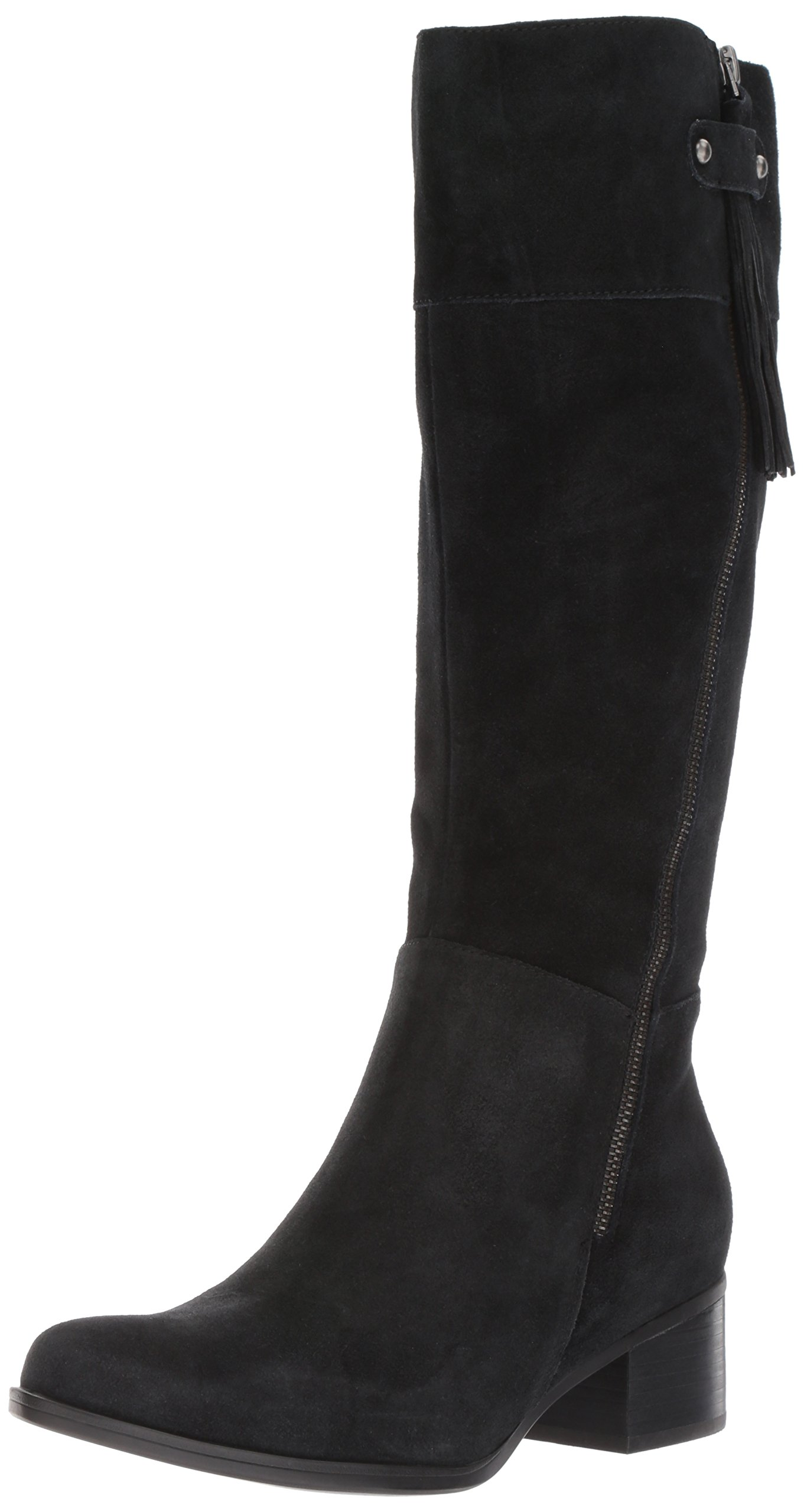 Naturalizer Women's Demi Riding Boot, Black, 10 M US by Naturalizer