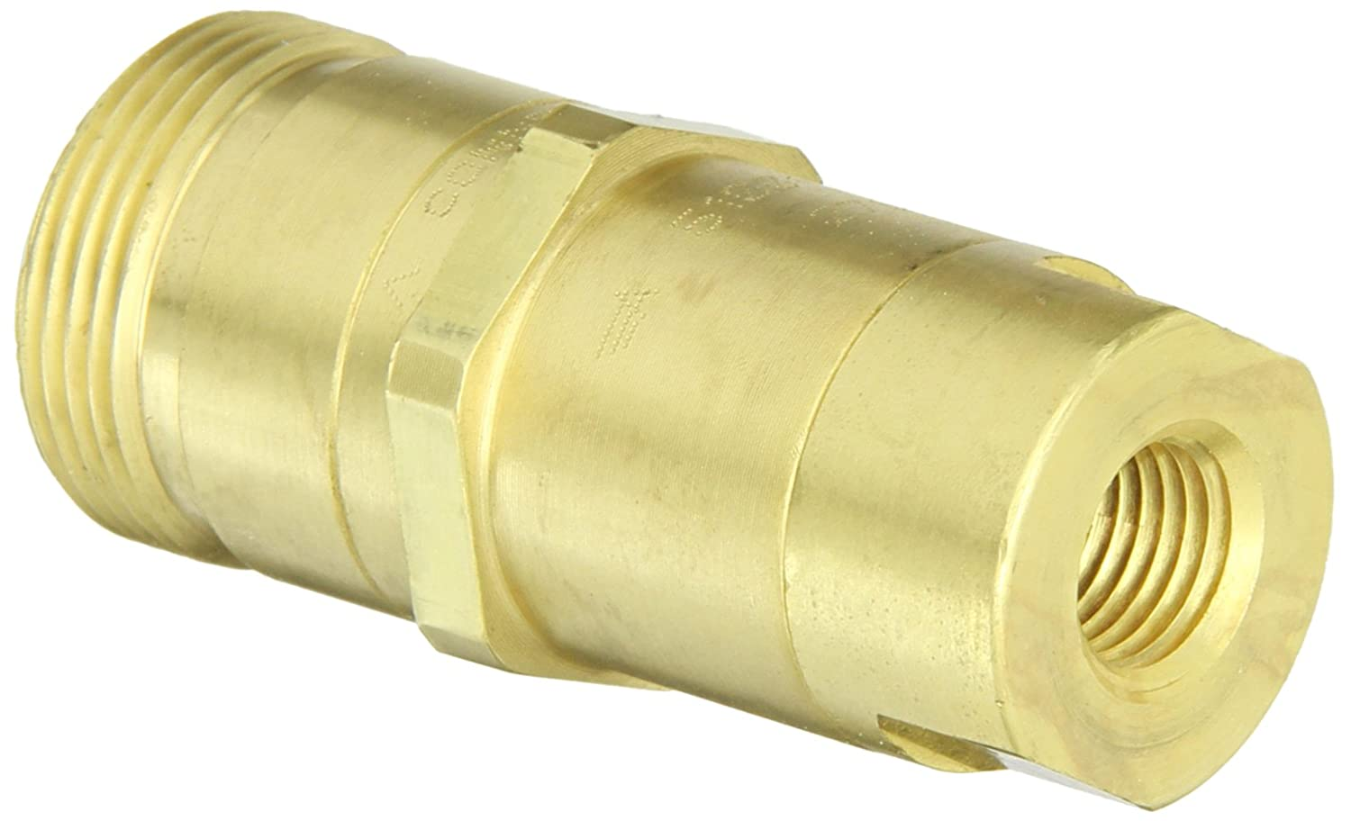 Pack of 20 Parker W372PLP-2-1-pk20 Composite Push-to-Connect NPT Fitting 1//8 and 5//8 Pack of 20 NPT Branch Tee 1//8 and 5//8 Tube to Pipe