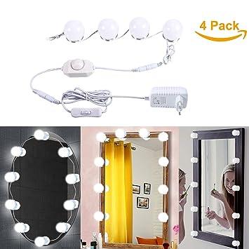 B-right LED Spiegelleuchte dimmbare Spiegellampe,Schminklicht ...