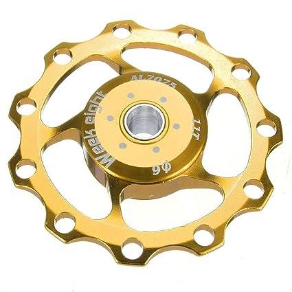 Rueda de guia de bicicleta - week eight polea de cambio trasero de rueda de guia