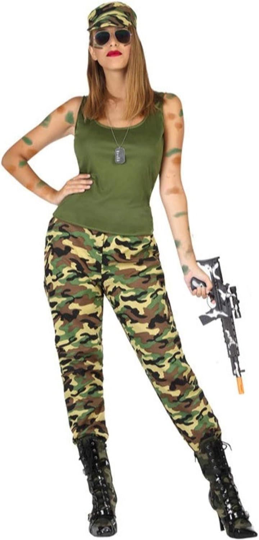 Disfraz de Militar Guerrillera para Mujer: Amazon.es: Juguetes y ...