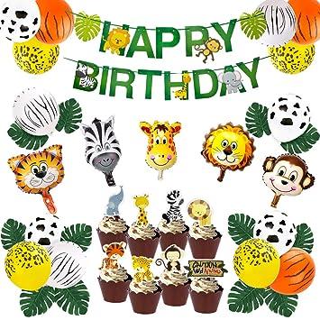 Decoracion De Baby Shower De Animales.Kreatwow Jungle Theme Party Decorations Baby Shower Safari