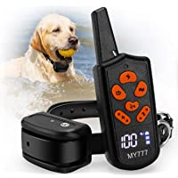 Zenvey IPX7 Waterproof Remote Shock Dog Training Collar with 1600 ft. Range and 3 Correction Modes