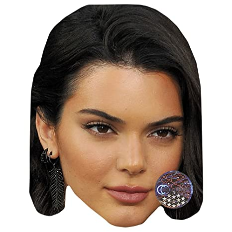 Amazon.com: Kendall Jenner máscara de celebridad, cartulina ...
