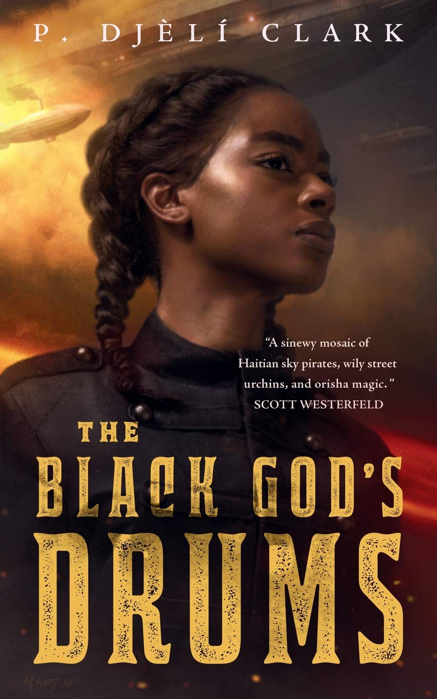 Black God's Drums: CLARK, P. DJÈLÍ: 9781250294715: Amazon.com: Books