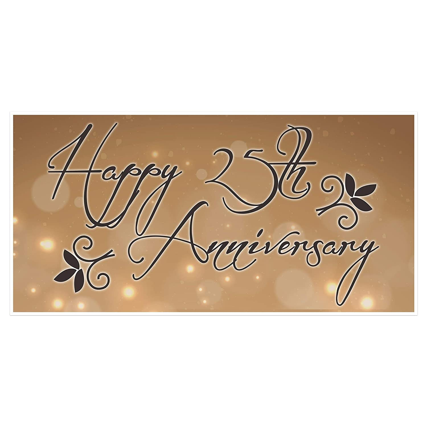 Wedding Anniversary Banner Personalized Party Decoration