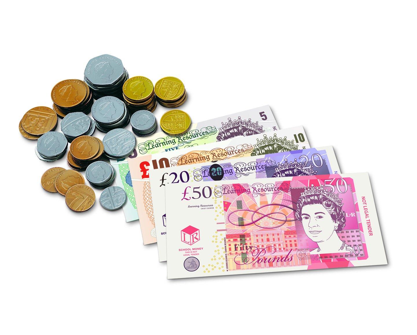 Toy Plastic Money : Play money coins eta hand mind bills and