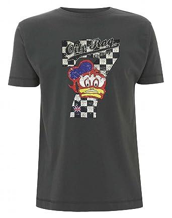 Barry Sheene T-Shirt von fettige RAG Gr. Small, Grau