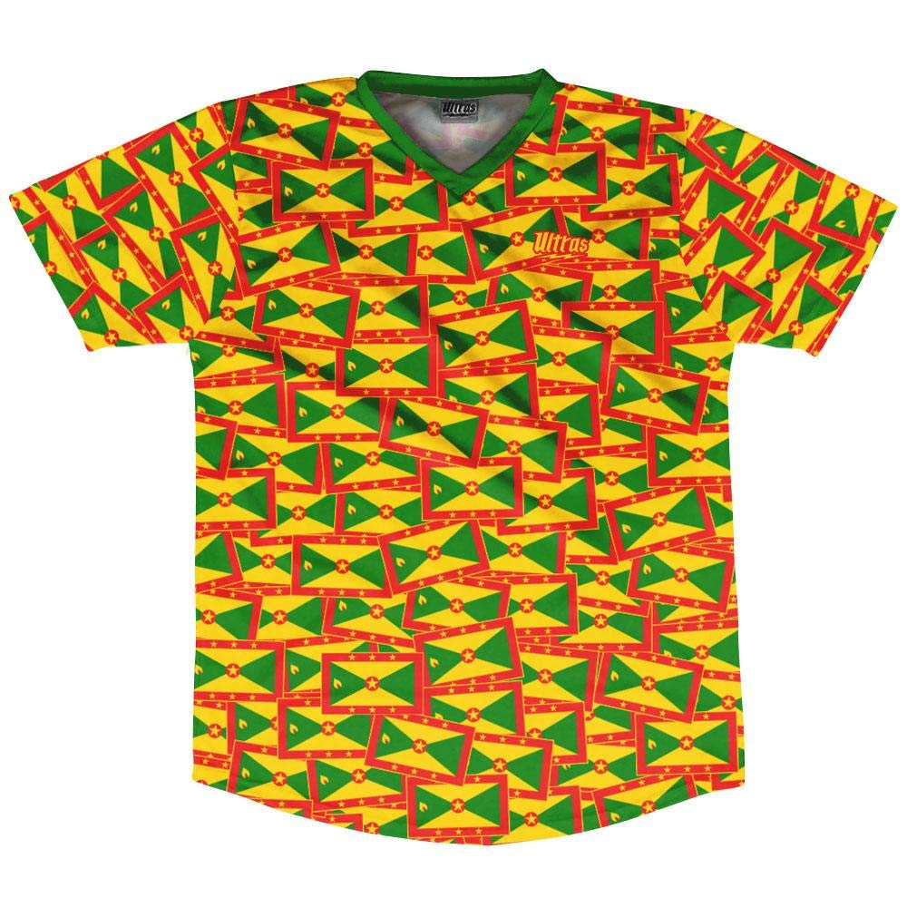 Ultras Grenada Party Flags Soccer Jersey