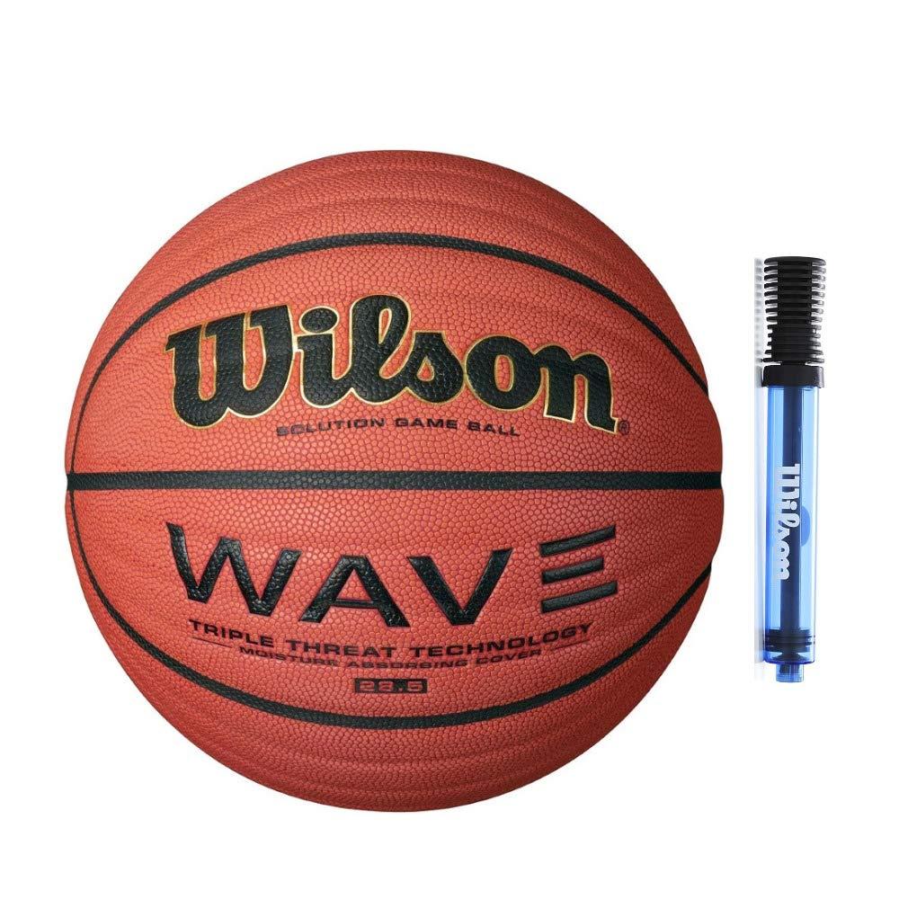 Wilson NCAA - Balón de Baloncesto con Bomba de inflado (28,5 ...