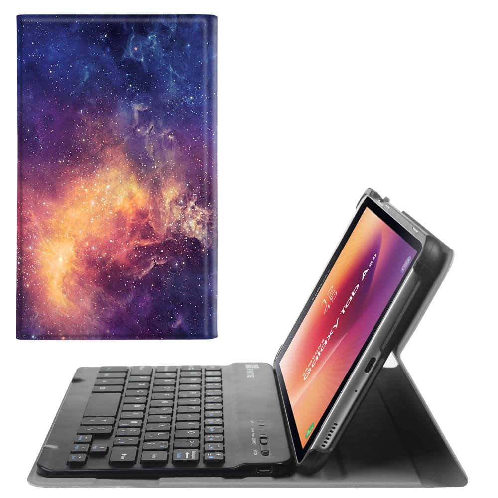 Fintie Keyboard Case for Samsung Galaxy Tab A 8.0 2017 Model T380/T385, Smart Slim Shell Stand Cover with Detachable Wireless Bluetooth Keyboard for Galaxy Tab A 8.0 2017 SM-T380/T385, Love Tree
