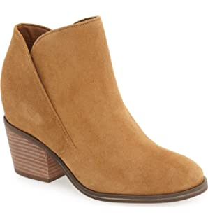Jessica Simpson Women's Dacia Ankle Bootie, Honey Brown, 5.5 M US