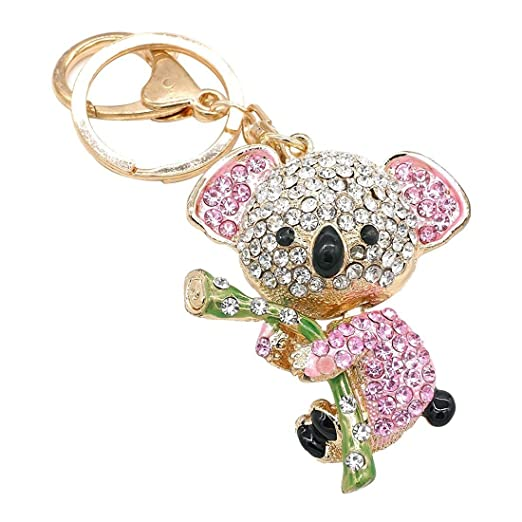 TOOGOO (R) Cute Lovely rosa moda colgante en oro Koala ...