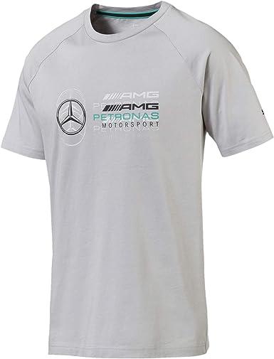 Mercedes AMG Petronas Mercedes Amg Logo tee, XXL Camiseta, Gris (Gray Gray), XX-Large para Hombre: Amazon.es: Ropa y accesorios