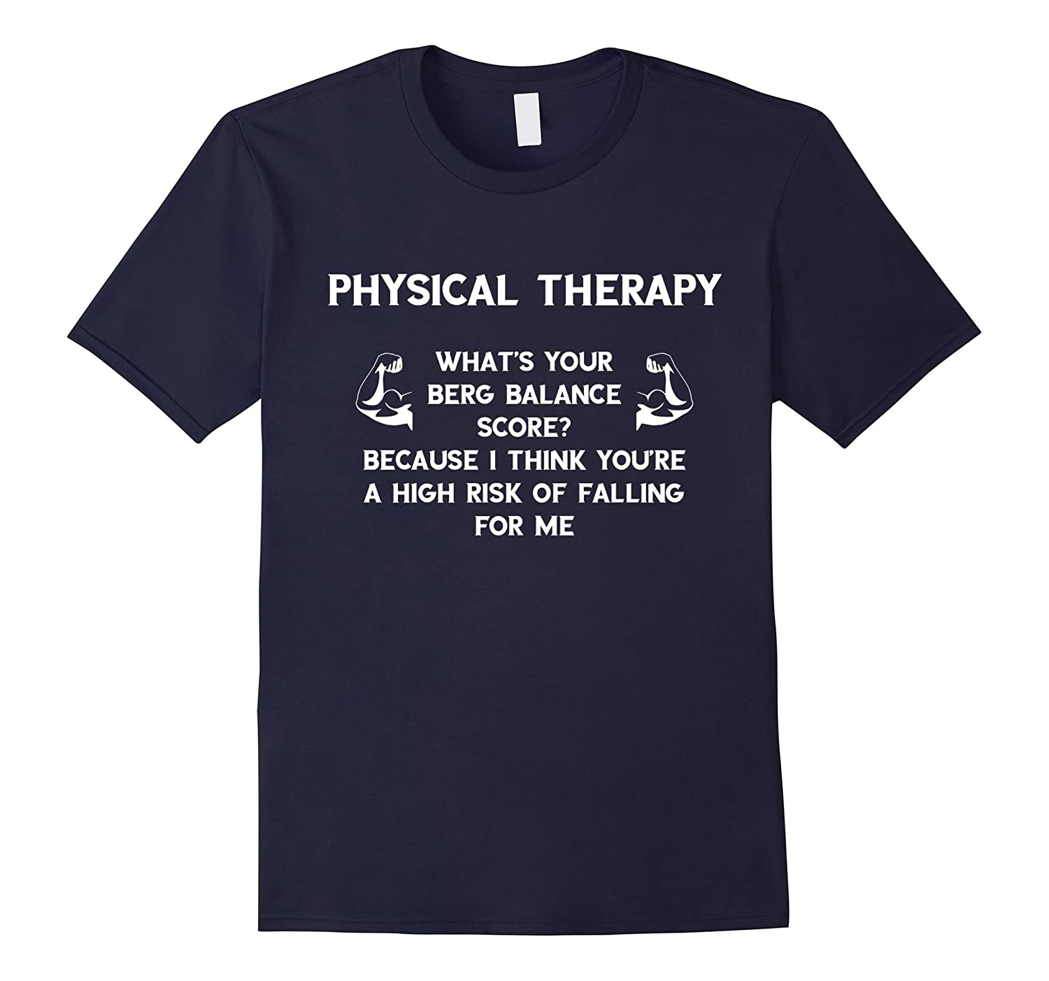 Physical Therapist Funny Shirt Balance Tee Shirt-ANZ