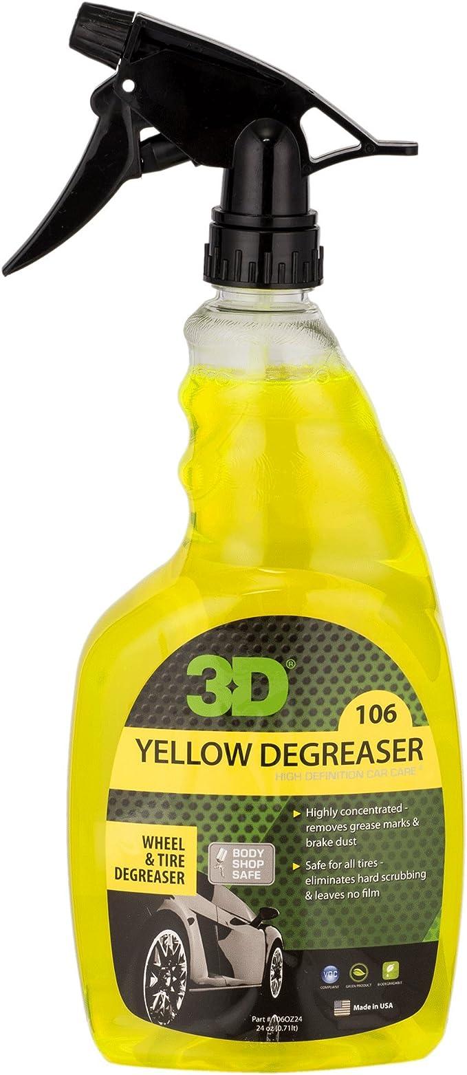 Amarillo desengrasante – Limpiador de neumático y rueda – 24 Oz ...