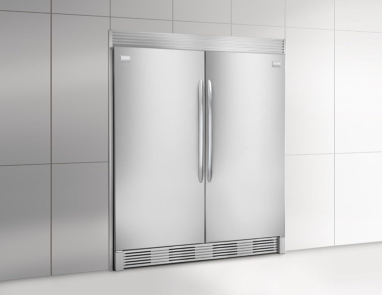 Amazon frigidaire 64 built in all refrigerator and all amazon frigidaire 64 built in all refrigerator and all freezer combo with 186 cu ft refrigerator and 186 cu ft freezer in stainless appliances rubansaba