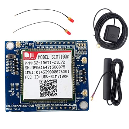 4G GPS GSM GPRS Module SIM7100A Development Board LTE WCDMA GNSS B2 B4 B15  + GPS Antenna for Arduino Raspberry Pi Window Geekstory