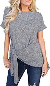 Giveaway: Chase Secret Womens Summer Solid Color Short Sleeve T-Shirt...