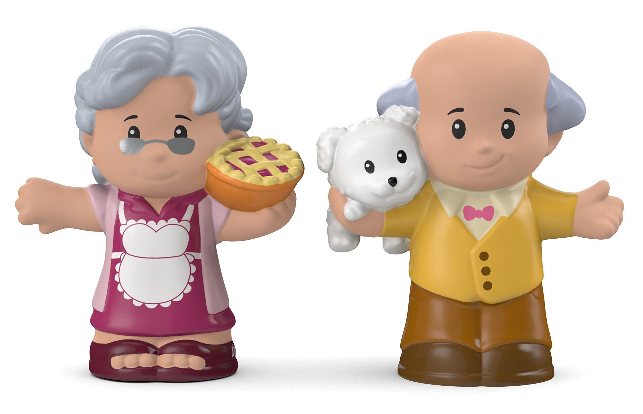 Fisher-Price Little People Great Grandma & Grandpa