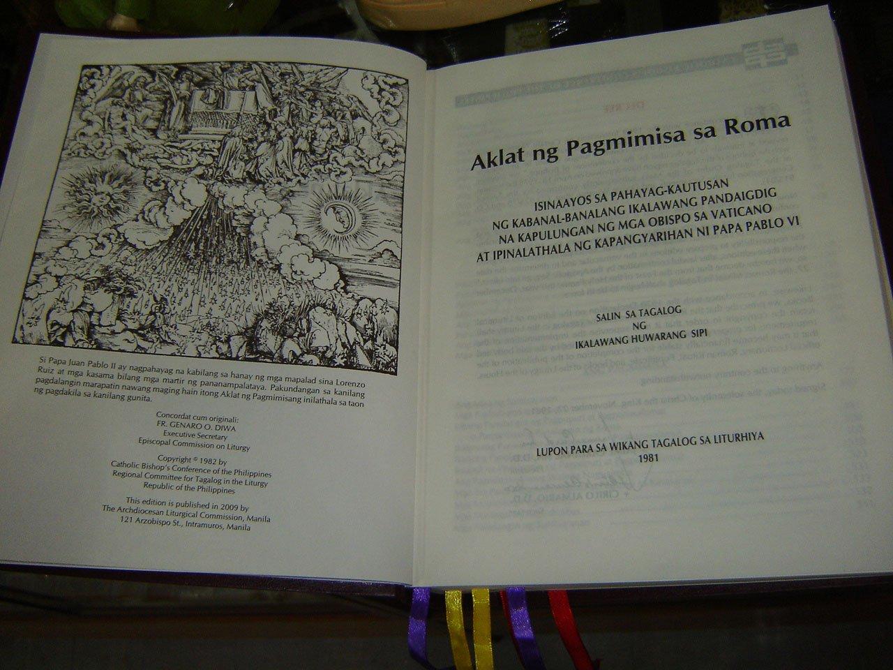 AKLAT NG PAGMIMISA SA ROMA PDF DOWNLOAD