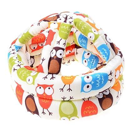 Welecom nueva de casco de seguridad para bebé, cabeza protección Cap, Medium