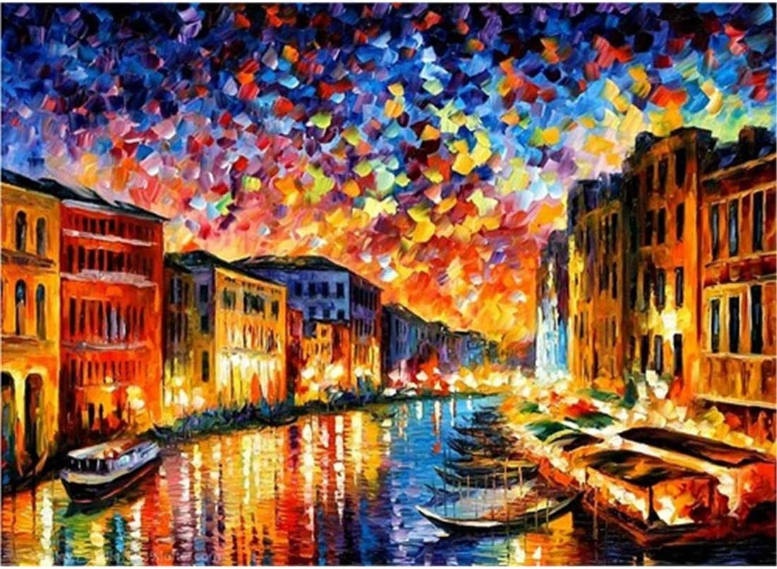 Painting by Numbers for Adults Beginner DIY Kits without Frame 40x50cm Gift