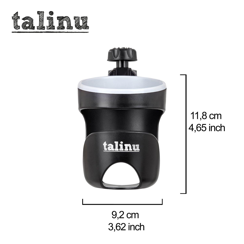 TALINU Getr/änkehalter f/ür Buggy und Kinderwagen Cupholder