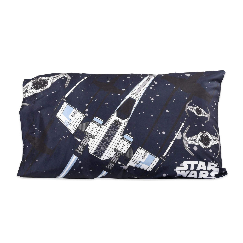 Dark Blue Star Wars Kids Standard Size Pillowcase 20 x 30 Inch