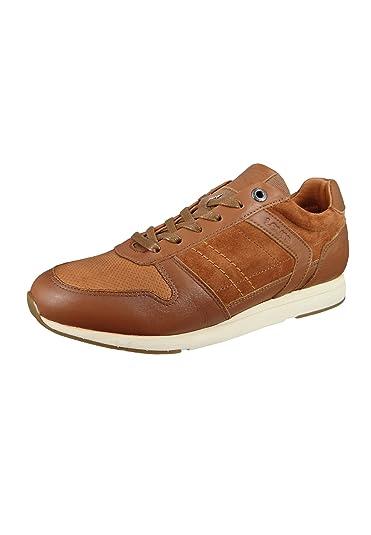 Levis 226774 808 27 Schuhe Sneaker Bristol Braun Medium Brown Leder