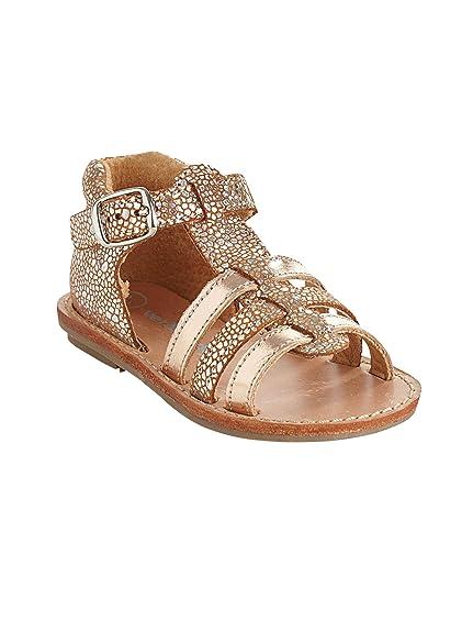 595f18e5d073d Vertbaudet Sandales Fille en Cuir: Amazon.fr: Chaussures et Sacs