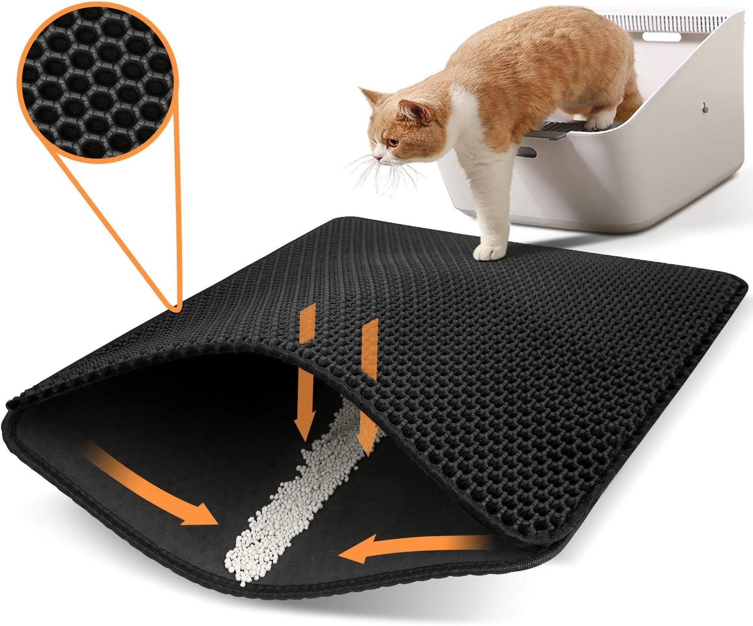 Polarduck Urine and Water Proof Double Layer Cat Litter Mat