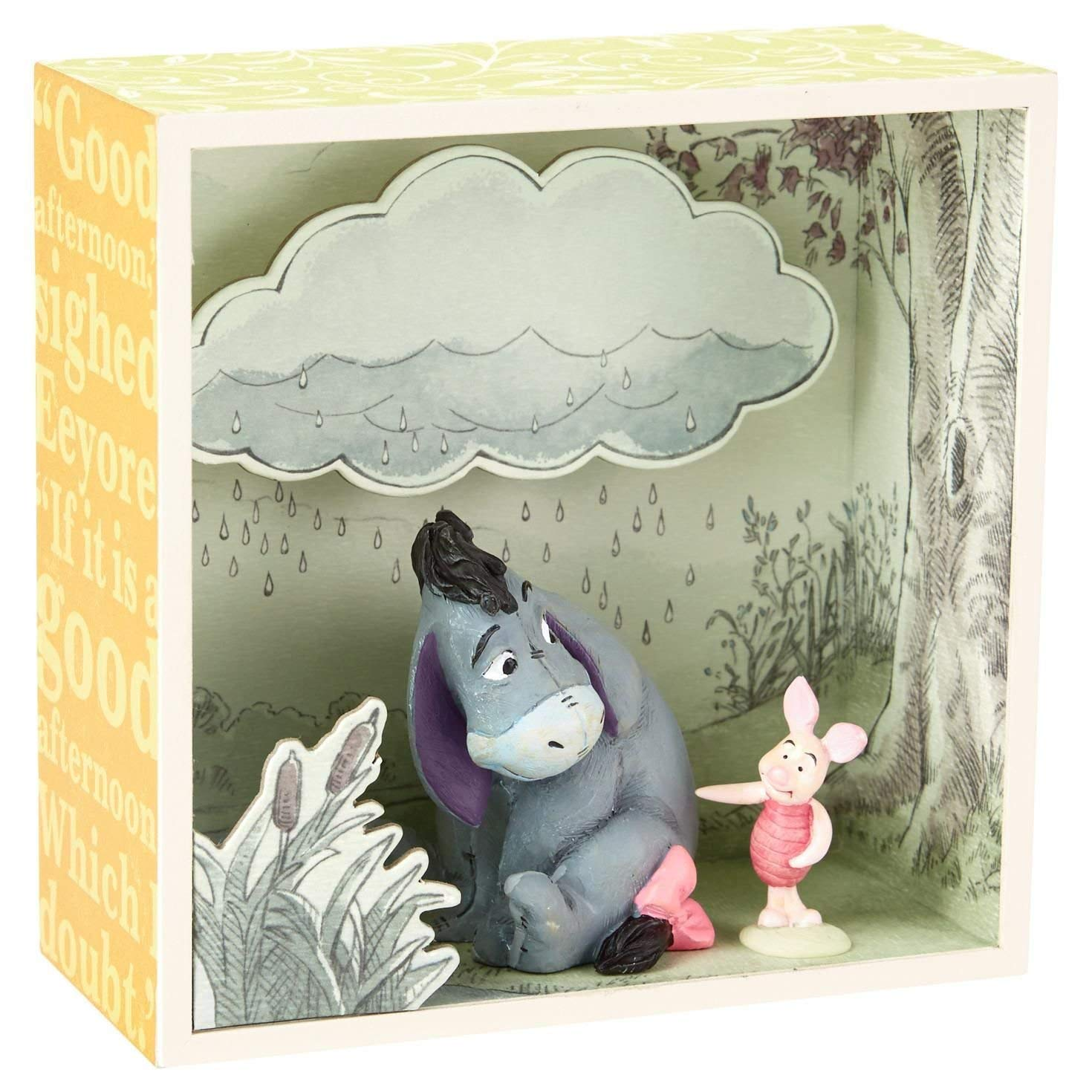Hallmark Eyeores Cloudy Afternoon Shadow Box by Hallmark