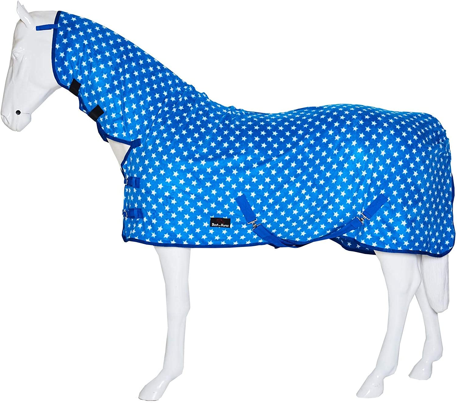 Horse Pony Show Travel Stable Cooler Riding Printed Breathable Fleece Sheet And Colours