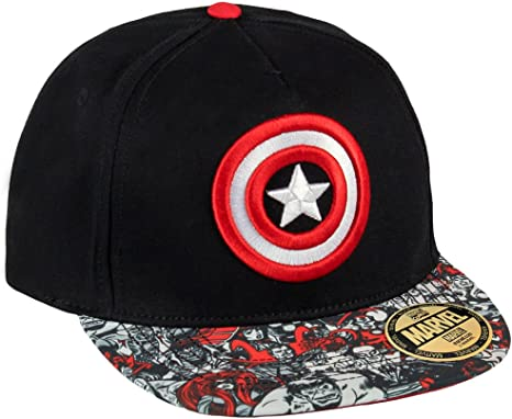 Marvel Comics Gorra Béisbol New Era Premium Captain America Shield ...