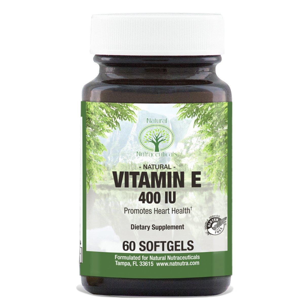 Nature Made  Natural Source E Vitamin  Iu