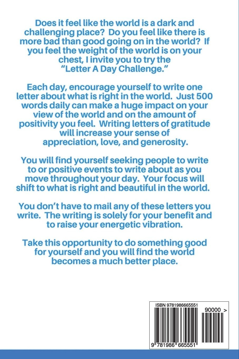 Buy Letter a Day Challenge: A Daily Gratitude Practice