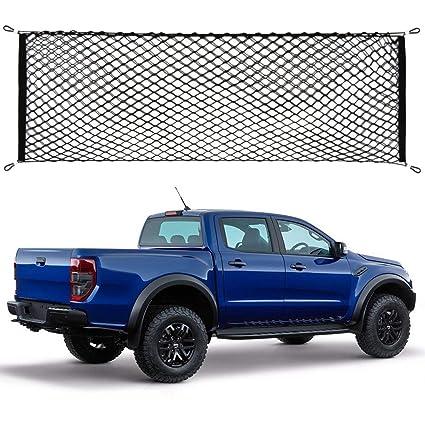 Truck Bed Cargo Net >> Amazon Com Etopmia Truck Bed Cargo Net Truck Net Organizer Fit Ford