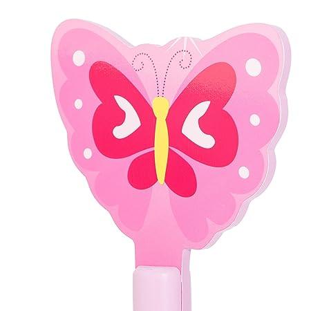 Kleiderständer clipart  Homestyle4u Kinder Kleidet Coat Hat Ständer mit Schmetterling ...