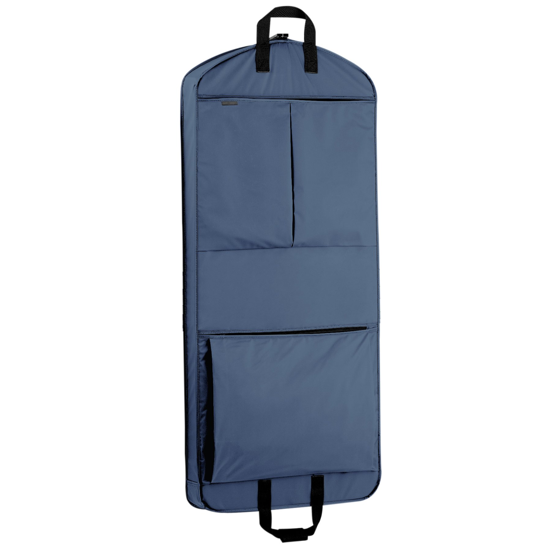 WallyBags Luggage 52'' Extra Capacity Garment Bag with Pockets, Navy