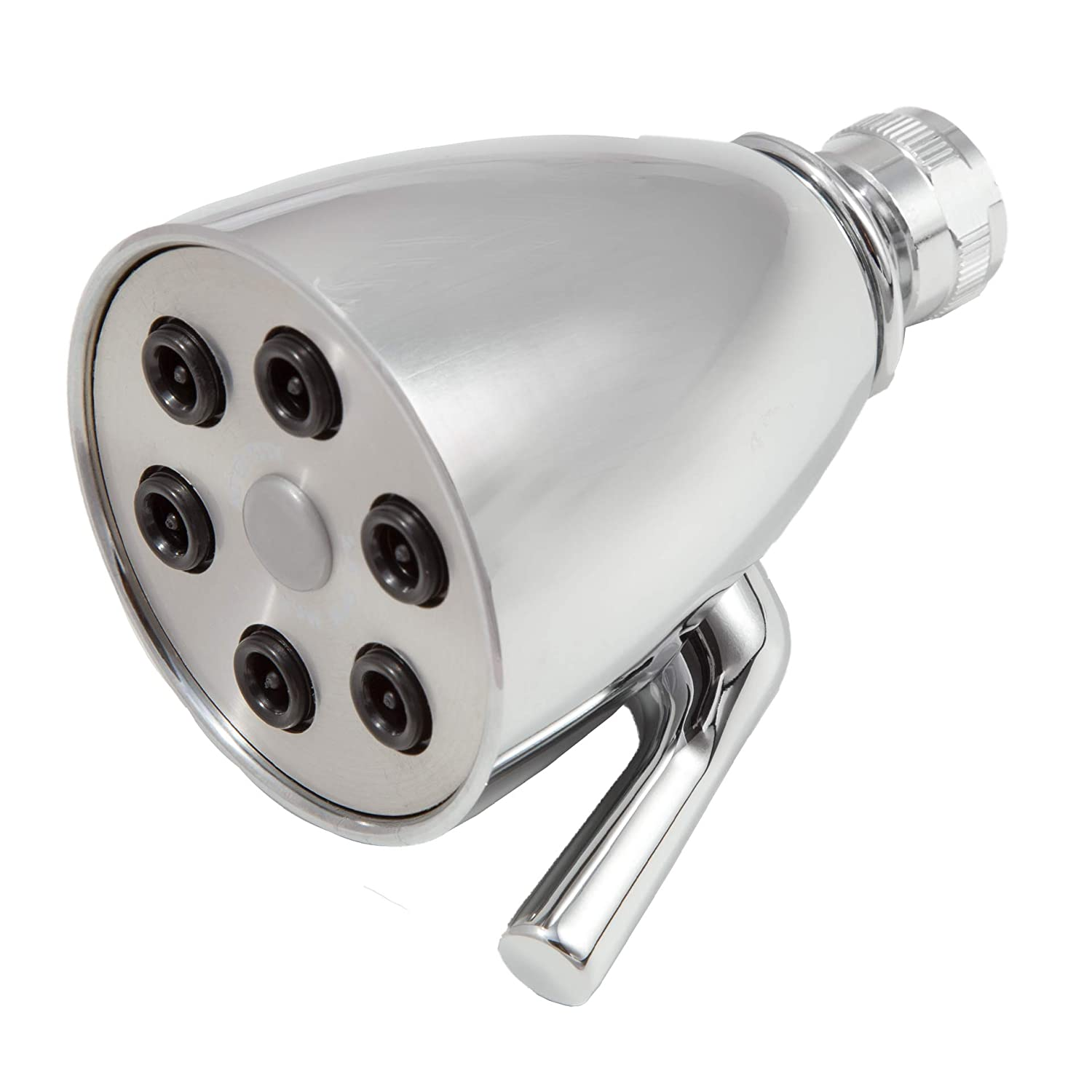 Giessdorf 6 Jet Shower Head, chrome