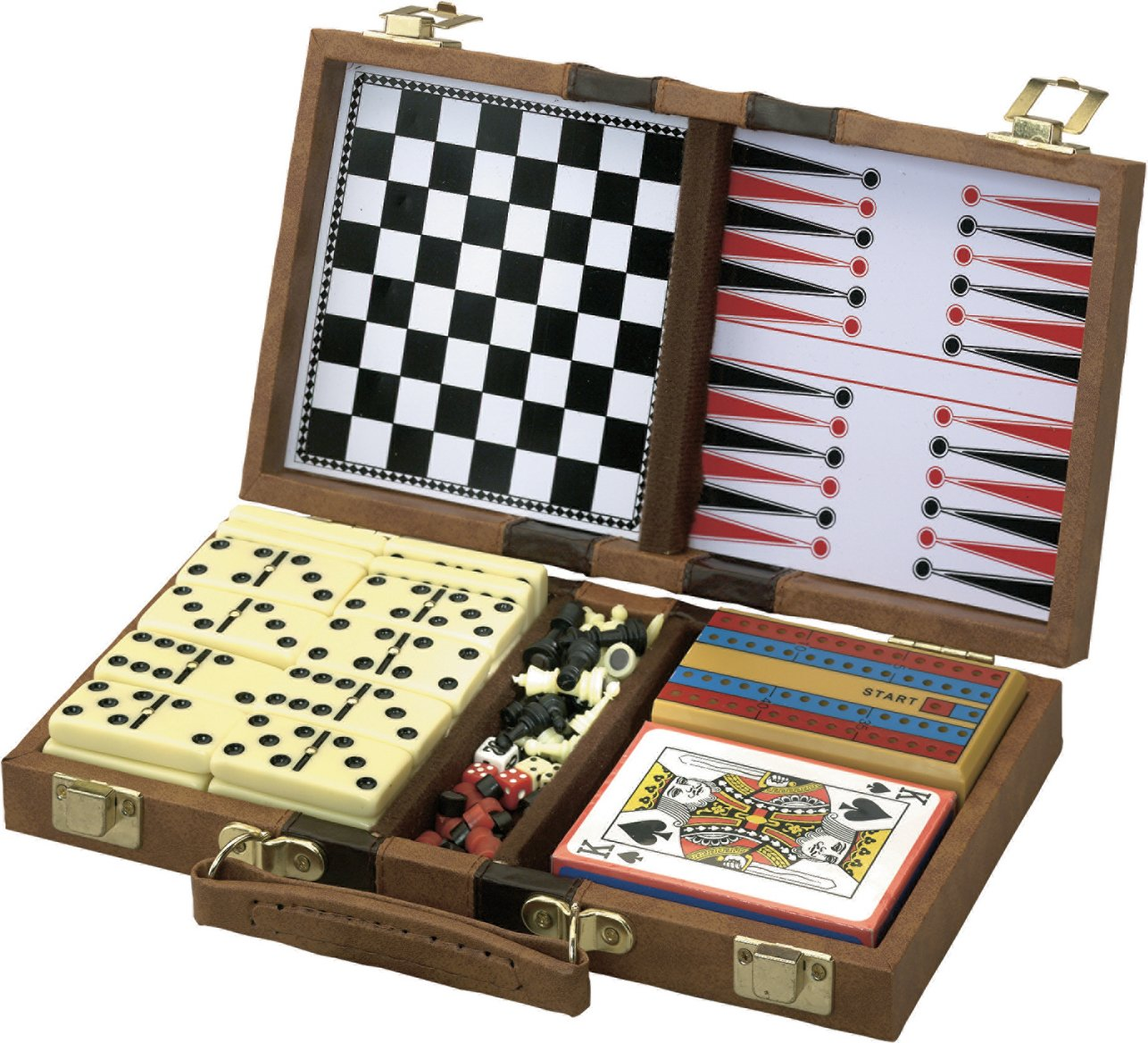 Amazon.com : Mainstreet Classics 6 In 1 Travel Game Set : Combination Game  Tables : Sports U0026 Outdoors