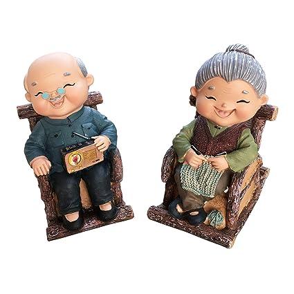 Groovy Amazon Com Benealways Grandma Grandpa Decoration Be Theyellowbook Wood Chair Design Ideas Theyellowbookinfo