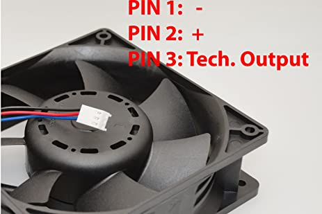 71r7kxRmT7L._SX463_ amazon com ultra strong 12cm dc12v cooling fan 200cfm Basic Electrical Wiring Diagrams at n-0.co