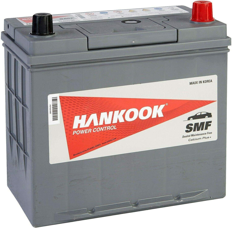 Hankook MF54523 45Ah Batterie de D/émarrage Pour Voiture 12V 360A 234x127x220mm
