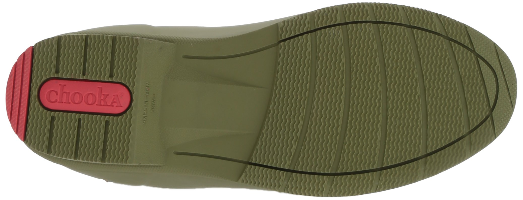 Chooka Women's Mid-Height Memory Foam Rain Boot, Olive, 9 M US by Chooka (Image #3)