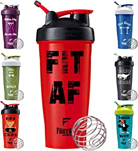 Forza Sports Blender Bottle x 28 oz. Classic Shaker - Fit AF
